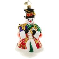 Christopher Radko Chilly Resplendence Christmas Ornament