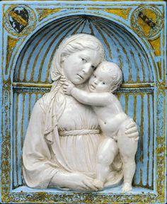 Virgin and Child in a niche // ca. 1460 // Luca della Robbia // © The Metropolitan Museum of Art