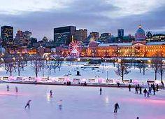 7. Montréal - patinoire hiver