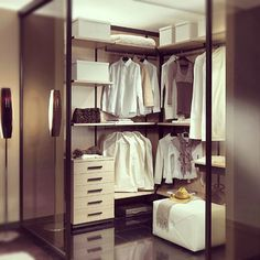 cabina armadio piccola - Cerca con Google Closets, Sweet Home, Google, Home Decor, Log Projects, Armoires, Decoration Home, Fitted Wardrobes, House Beautiful