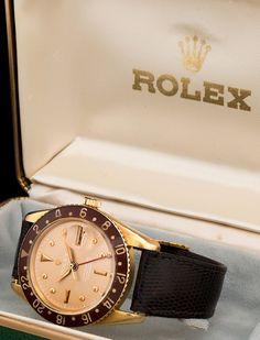 """rolex the """"albino"""" gold gmt ref. 6542 #watchporn #watchdaily #dailywatch #watchstagram #watchcollector #rolex #vintagerolex #vintagerolexfolum #vintagerolexapp #vintagehour #vintagehourswatches #wristporn #watchtuneup #thebillionairsclub #watches #watch #menswatch #style #mensstyle #mensfashion #gold"""