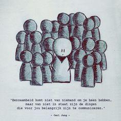 Quote van de week: Eenzaamheid communiceren -- Tekstbureau Van Ginneken