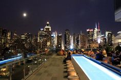 Ink48 - a Kimpyon Hotel, New York City.  This place is calling my name!