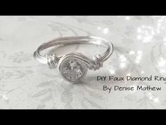 DIY Adjustable Tiara Knuckle Ring by Denise Mathew - YouTube