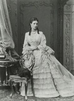 Eighteen-year-old Princess Dagmar of Denmark.