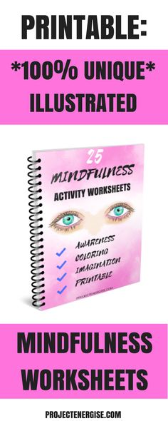 These 25 printable mindfulness worksheets are perfect for beginners to mindfulness that want a fun way to be mindful. Mindfulness for beginners worksheets. Mental Health Blogs, Kids Mental Health, Mindfulness For Beginners, Level Of Awareness, Anxiety Awareness, Mindfulness Activities, Mindfulness Quotes, Anxiety In Children, Anxiety Tips
