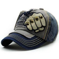 50ae30b199c59 Mens Vogue Adjustable Denim Patch Baseball Cap Outdoor Sunshade Cap. Mens  CapsSummer ...