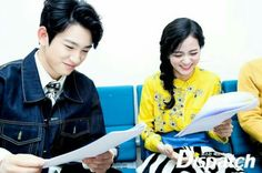 They're so cute together   #jinyong #jisoo #got7 #blackpink #doyoung #jinjido