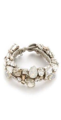 Stunning bracelet for holiday parties.