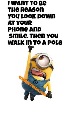 Facetious Minions images with quotes (01:56:25 PM, Thursday 24, September 2015 PDT) – 10 pics