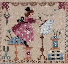 Sewing Box, Needle And Thread, Cross Stitch Patterns, Needlework, Le Point, Embroidery Stitches, Punch Needle, Quilts, Knitting Needles