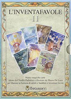 Carte e giochi da tavolo per inventare fiabe, favole e racconti - L'Inventafavole II - Il Barbagianni - 01