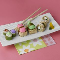 Got a skill for sushi-making? You might consider a PEEPS variety for dessert!   - Delish.com