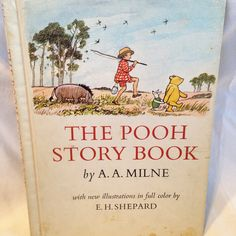 """Winnie The Pooh -""""The Pooh Story Book"""" -Vintage Kids Book 1965 by RetroVintageHeart on Etsy"""