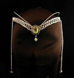 Medieval Renaissance circlet tiara ARWEN fantasy ELVEN