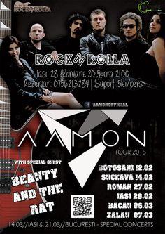 Aamon / Beauty and The Rat @RocknRolla Iasi