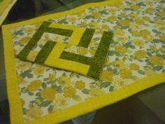 Toalha de chá + almofadinha recheada com ervas aromáticas