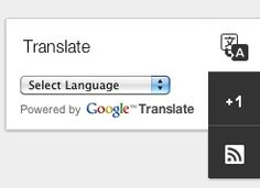 Add Google Translate Widget, Blog list and Text List to your Dynamic Blogs!