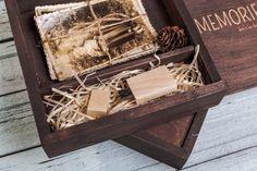 Set of 5 Handmade vintage wood photo box 4x6 by NZHANDICRAFT