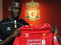 Mario Balotelli - Liverpool Barclay Premier League e7ed67ee451d8