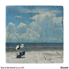 Day at the beach trivets