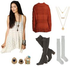 3 Boho-Chic Winter Outfit Ideas. Who says you can't rock a bohemian look all year long?