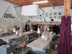 The Factory: Sewing Studio, Production House, Design Co-Op in SoMa   San Francisco - DailyCandy