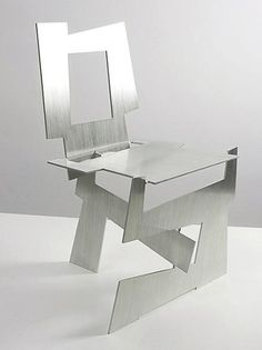 """Tel Aviv Chair by Ronen Kadushin from the """"Recent Uploads"""" Collection. The Stencils for these chair can be downloaded for own production use - This is Open Design."""