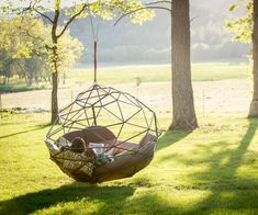 """It's no Bird's Nest Bed, but I would 100% take a Kodama Zome over a Lotus Belle Tent on account of the fact that it is 100 times less likely to make someone say my least favorite word of the decade: """"glamping."""" The geodesic Zomes are all hand built in"""