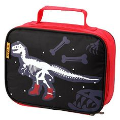 D & N Skeleton Dinosaur Lunch Bag by D & N Kids. $21.99. Man Made Materials. Country of Origin China. Wash Clean. Microfiber. Lunch Bag