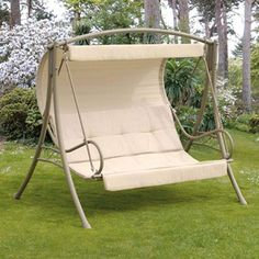 Seville 3 Seater Swing Seat in Cappuccino
