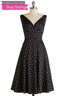 This little bow print dress is so sweet