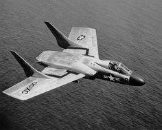 Vought F7U-3 Cutlass XC00, May 9, 1953.