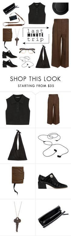 """Last Minute Trip"" by deepwinter ❤ liked on Polyvore featuring Neil Barrett, Lanvin, The Row, AIAIAI, Merchant & Mills, TIBI, McQ by Alexander McQueen, Monki and lastminutetrip"