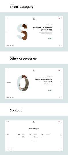 Mr.Bara - Fashion Minimal Concept on Behance