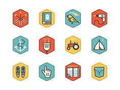 Thought we'd share some more icons from this project.