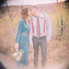 Gorgeous elopement!
