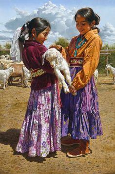 Il mondo di Mary Antony: L'iperrealismo di Alfredo Rodriguez (american indian art)