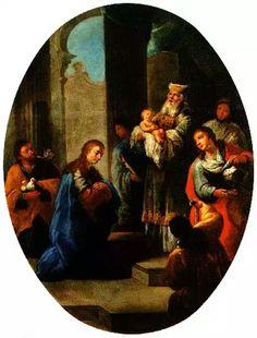 La presentación del hijo de Dios en el templo