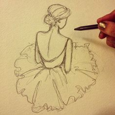 Ballarina sketch