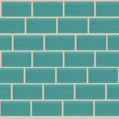American Olean�10-Pack 12-in x 12-in Legacy Hazel Glass Mosaic Subway Wall Tile