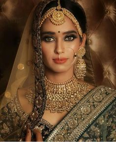 Sabyasachi Jewelry Indian Jewelry,Heavy Indian Bridal Jewelry Set,Kundan Jewelry Jewellery - New Ideas Indian Bridal Jewelry Sets, Indian Bridal Fashion, Indian Jewelry, Bridal Jewellery, Indian Wedding Makeup, Jewellery Box, Indian Makeup, Antique Jewellery, Indian Bridal Hair