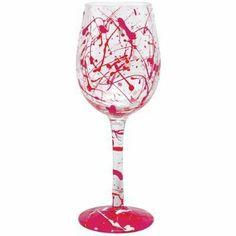 Lolita Wine Glass Valentine Splash GLS11-5535D by Santa Barbara Design Studio. $19.95. Hand Wash. Wine Glass. Lolita Hand Painted Valentine Splash. Save 17% Off!