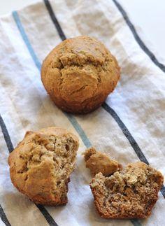 on the menu - gluten & dairy-free banana nut muffins