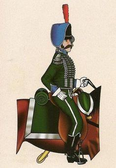 Cazadores Voluntarios de España 1808 Oficial