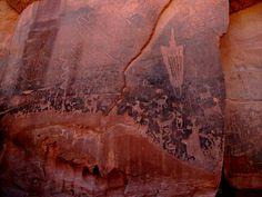 Moonflower Canyon Petroglyphs