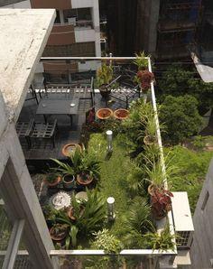 Terraço Jardim!=)  South Water Carees / Shatotto