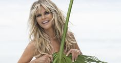 Naked and Not Afraid! Christie Brinkley, Poses Nude Under a Giant Palm Leaf for Social Life Magazine Christie Brinkley, Big Leaves, Wild Hair, Hair Serum, Fringe Hairstyles, Hair Images, Life Magazine, Swimwear Fashion, Shots