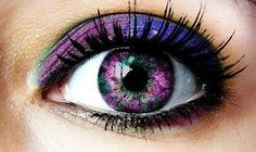 Change Your Eye Color Naturally & Permanently to Purple Violet Dark Emerald Green Get Purple Violet Dark Emerald Green Eyes Fast! Purple Love, All Things Purple, Shades Of Purple, Purple Iris, Plum Purple, Pretty Eyes, Cool Eyes, Beautiful Eyes, Amazing Eyes