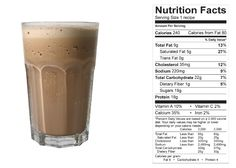 Vanilla Chai Smoothie (NCAA Compliant) made with BiPro Whey Protein Isolate. Your Whey to a Healthier You
